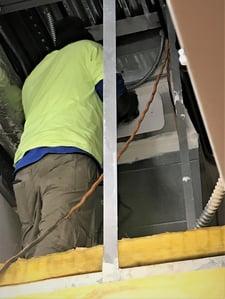 duct door installation
