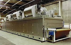Industrial Curving Ovens