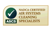 NADCA Certified Air Systems Cleaning Specialists