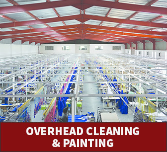 Overhead Cleaning and Painting